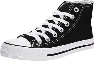 Zapatillas de Deporte Mujer Zapatillas Canvas de Lona Unisex de Mujer o Hombre Estilo Casual y Deportivo