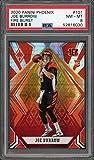 Joe Burrow Cincinnati Bengals 2020 Panini Phoenix Fire Burst Football Rookie Card RC #101 Graded PSA 8. rookie card picture