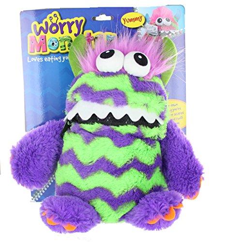 Worry Monster Preocupación Monstruo Peluche Suave Juguete púrpura y Verde
