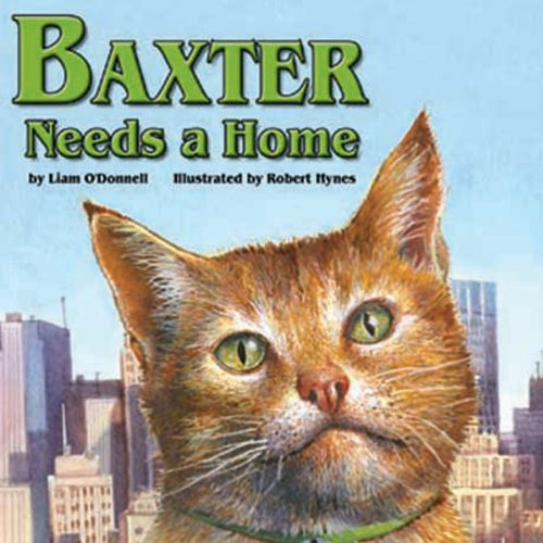 Baxter Needs a Home audiobook cover art
