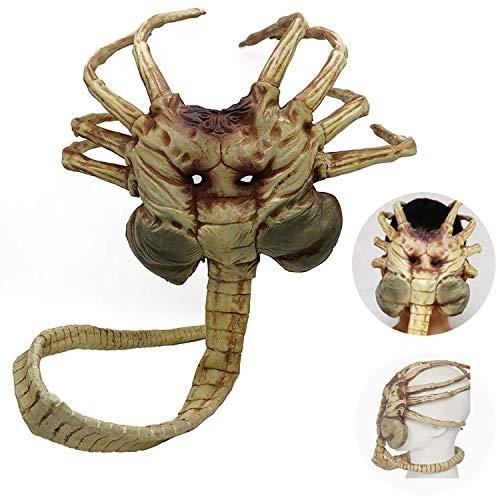JWTOY Neuheit Halloween Latex Maske Erwachsene Latex Vollmaske Gruselig Scary Alien Cosplay Kostüm Maske Für Erwachsene Party Dekoration Requisiten