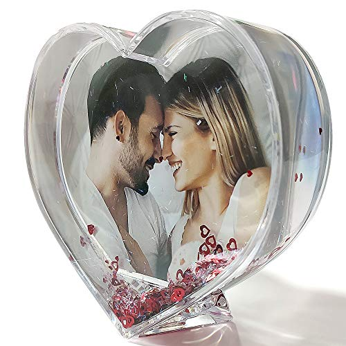 LolaPix - Bola Corazones Personalizada con tu Foto, diseño o Texto, Original y Exclusivo. Regalo para Enamorados. Regalo con Amor