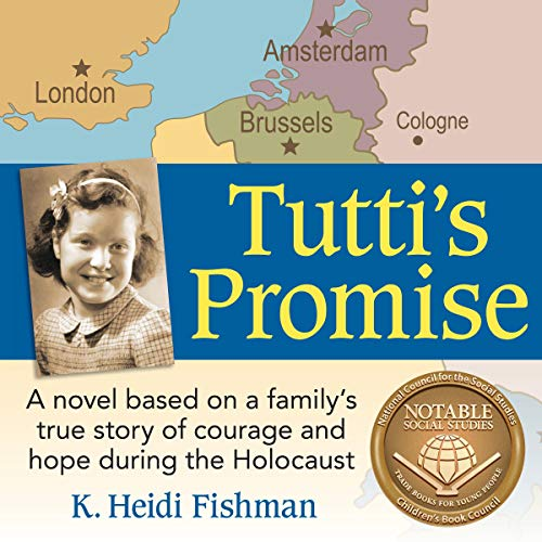 Tutti's Promise     A Novel Based on a Family's True Story of Courage and Hope During the Holocaust              By:                                                                                                                                 K. Heidi Fishman                               Narrated by:                                                                                                                                 Grace Angela Henry,                                                                                        K. Heidi Fishman,                                                                                        Ruth Tutti Lichtenstern Fishman                      Length: 4 hrs and 29 mins     Not rated yet     Overall 0.0