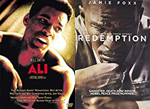 Diverse Controversial Inspiring Characters- DVD Double Feature: ALI & REDEMPTION : The Stan Tookie Williams Story (Will Smith + Jamie Foxx)