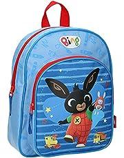 Vadobag Bing - Zaino per bambini, motivo: coniglio, 30 cm, colore: Nero