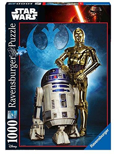Star Wars - Puzzle, diseño Droidi, 1000 Piezas (Ravensburger 19682)