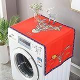 Waschmaschinen-Abdeckung für Kühlschrank, Nachttisch, staubdicht, mit...