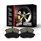 Saab 9-4X Performance Brake Kits - Premium Quality True Ceramic FRONT & REAR New Direct Fit Replacement Disc Brake Pad FULL Set 0534 - FRONT & REAR 8 PIECES FULL KIT D1422&D1337