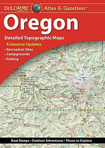 Delorme Oregon Atlas & Gazetteer (Delorme Atlas & Gazetteer)