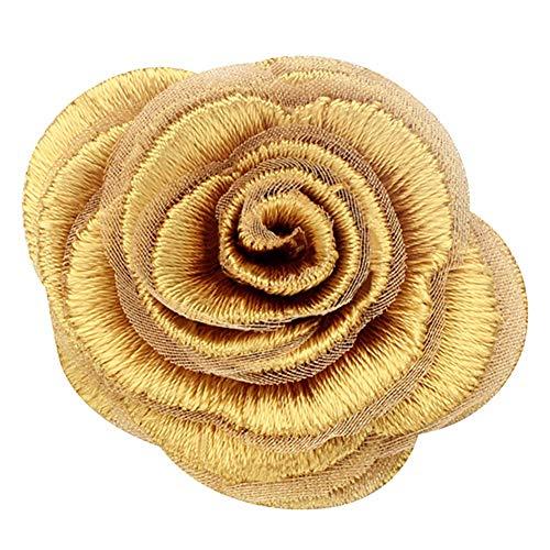 AIXZHEN Tuch Seide Einzigartige Elegante Rose Broschen Kleidung Pin Modeschmuck Für Frauen Mädchen Geschenk Schal Dekorationen