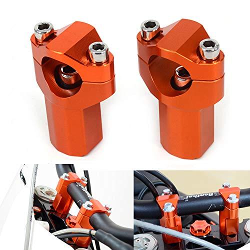 Phare de phare LED de moto pour K.T.M EXC EXCF SX SXF XC XCF XCW XCFW 125 150 250 300 350 400 450 505 525 530 Orange