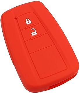 JinzukeReemplazo para 2 Bot/ón Toyota Corolla Verso Prius Shell dominante alejado del Fob Interruptor Caja de la bater/ía Accesorios para Auto