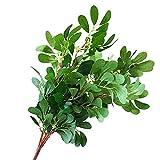 wewa98698 - Planta Artificial de Zumo para decoración de Bodas, hogar, Escritorio, 1 Unidad, Color Verde