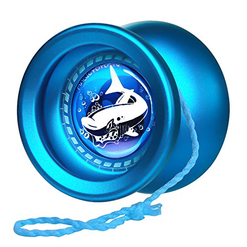 MAGICYOYO T9 Shark Responsive Yoyo for Kids, Alloy Yoyo Metal Yo Yo for Kids Beginners, with Yoyo...