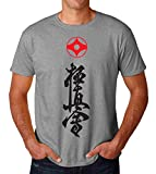 PasTomka Karate Logo Symbol Men's T-Shirt Hombre Camiseta Large