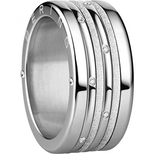 BERING Schmuck Damen Ring Set Kombinationsring Arctic Symphony Collection asc240, Größe:8