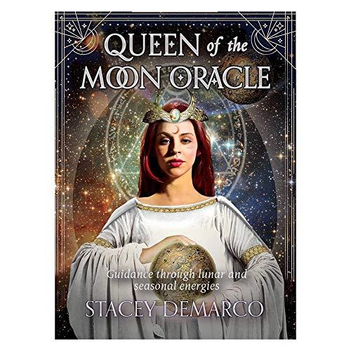 44PCS Königin des Mondes Oracle Karten Dauerhafte Lustige Brettspiele Tarotkarten Mystische Anleitung Wahrsagerei Schicksal Party Kartenspiele
