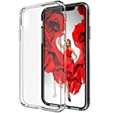 Luvvitt iPhone XR Case Clear View with Shockproof Drop Protection Slim Soft Hybrid TPU Gel Bumper and Hard PC Scratch Resistant Back for 6.1' inch Screen Apple iPhone XR (2018) 10R - Crystal Clear