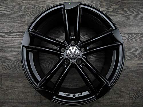 Wheelworld WH27 - Juego de 4 llantas de aluminio para Beetle EOS Golf 5 6 7 R Passat T-Roc Tiguan Touran