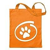 Kiwistar - Bolsa de arpillera con diseño de Perro o Gato - Proverbios Impresos Que Cubren Modelos - Bolsa de Fitness con Forma de Bolsa de algodón colgada en un Mango Largo Size: 30cm