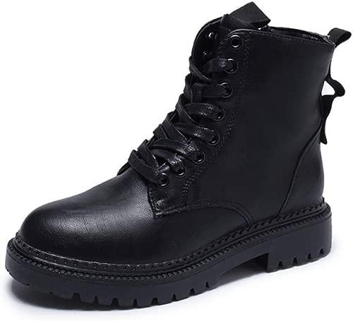 JQfashion Spring Autumn Ankle Stiefel Damen Round Toe Mid Heels Zipper Schuhe Female Daily Fashion Stiefel