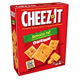 Cheez-It, Baked Snack Cheese Crackers, Reduced Fat Original, Made with 100% Real Cheese, 6oz Box(Pack of 12)