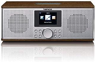 Lenco DIR-170WA DIR-170 Internet tafelradio DAB+, FM AUX, Bluetooth, USB, internetradio walnoot 2 x 10 Watt RMS