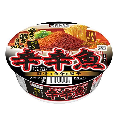 寿がきや 麺処井の庄監修 辛辛魚らーめん 136g ×12箱