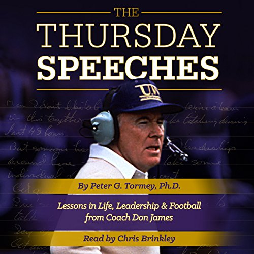 The Thursday Speeches audiobook cover art
