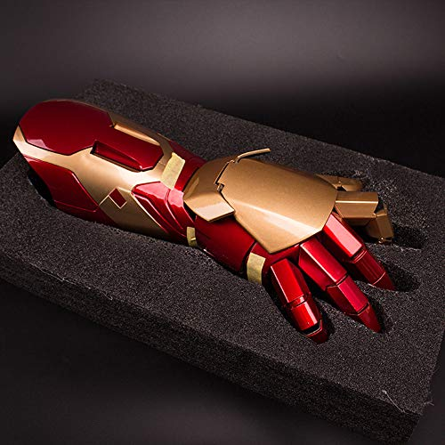 Action Figure Iron Man MK42 1:1 Wearable Arm And Gloves Model Toy -...