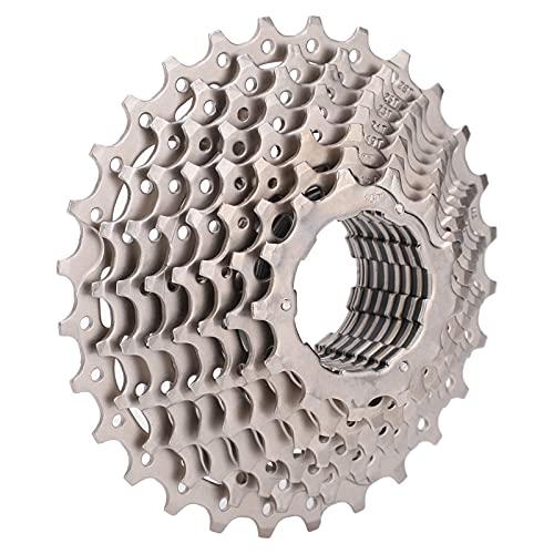 Keenso Volante de Cassette de 10 velocidades, anticorrosión 11-28T Volante de Bicicleta Cassette Ligero de Bicicleta de montaña para Accesorios de Ciclismo