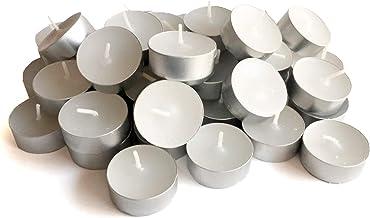 Kit Mini Velas Parafina Tea Lights Pequena 50 Unidades
