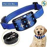 Dog Training Collar, SUPERNIGHT Dog Bark Collar 2in1 Anti Barking Device with 7