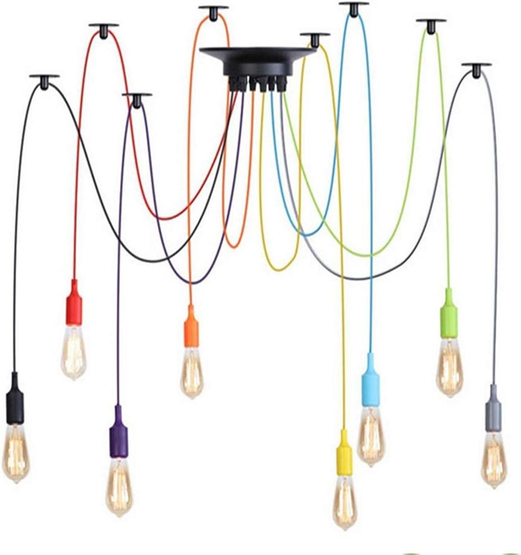 Kronleuchter Zum Vergrern auf das Bild zoomen Vintage Deckenleuchte Pendelleuchte, Diy Deckenspinnenlampe 6 8 10 12 Leuchte E27 Hngelampe Edison Mehrere verstellbare Pendelleuchten