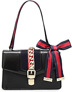 Mini Handbags for Women, Fashion Shoulder Bag Cross Body Bag with a Bow Tie