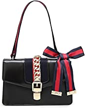 OLYLY Mini Handbags for Women, Fashion Shoulder Bag Cross Body Bag with a Bow Tie