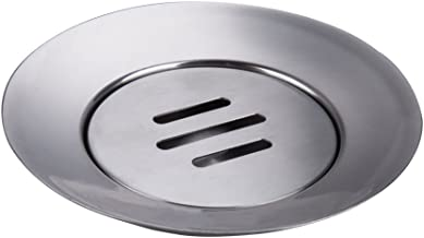 IMEEA Soap Dish Holder 18/8 Stainless Steel Double Layer Draining
