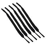 VGEBY1 Confezione da 5 Pezzi Cinturino per Occhiali, Cinturino Sportivo per Occhiali da Sub/Occhiali da Sole/Occhiali Sportivi per Lo Sci da Nuoto. Nero