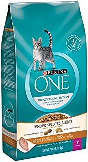 Purina ONE Tender Selects Chicken Cat Food SmartBlend/Purposeful Nutrition 7 lb bag