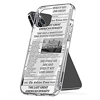 Phone Case Compatible with iPhone The Scratch Last Shock Great Waterproof American Accessories Dynasty Newspaper 6 7 8 Plus Se 2020 X Xr 11 Pro Max 12 Mini
