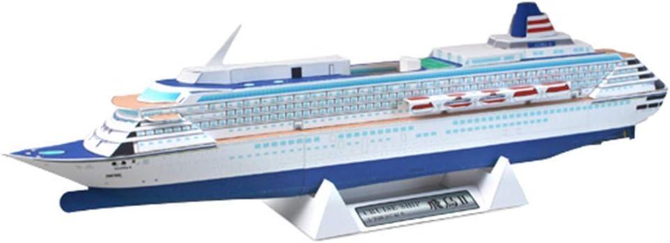 Limited price HSJWOSA Adorably Puzzle Model Under blast sales Toys 1 Cruise Asuka II Scale 800