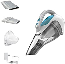 BLACK + DECKER HHVI315JO42 Dustbuster بی سیم لیتیوم خلاء دستی، Flexi Blue