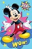 Disney Manta De Mickey Mouse, Mickey Mouse Manta Polar Infantil Suave para...