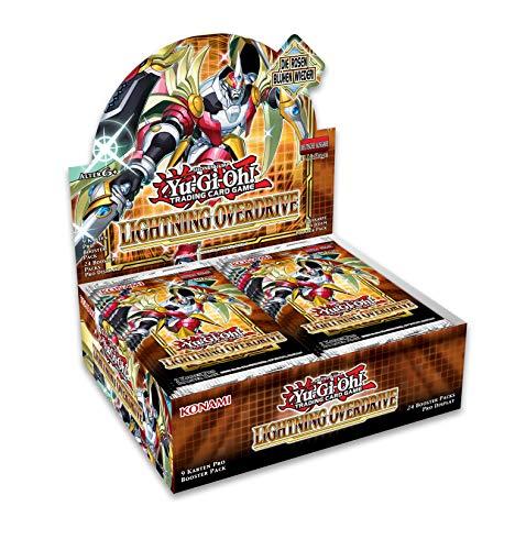 Yu-Gi-Oh! TRADING CARD GAME Lightning Overdrive Display-Deutsche Ausgabe