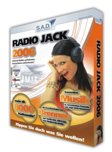 Preisvergleich Produktbild Radio Jack 2006,  CD-ROM Internet-Radios aufnehmen,  konvertieren und brennen! Für Windows 2000 / XP