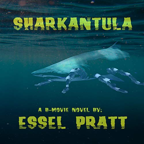Sharkantula audiobook cover art