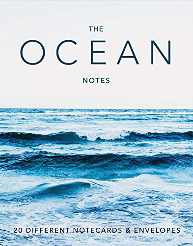 The Ocean Notes: 20 Different Notecards & Envelopes (Gifts for Ocean Lovers, Sea Photography Stationery Set)