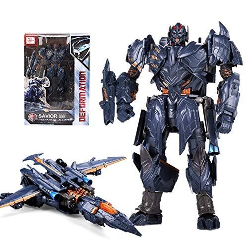 N\A Black Mamba Transformers Masterpiece Megatron Actions Figuren , Verformbares Spielzeug -18cm