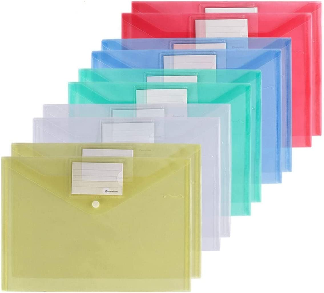 price Xzyppci Plastic Envelopes Poly Clear Document 2021 new 40 Pack