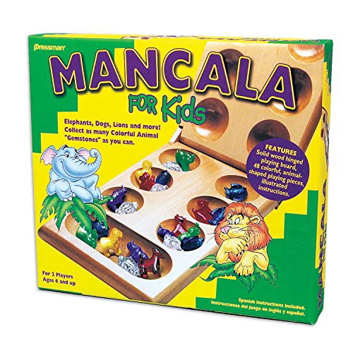 Mancala For Kids - Simple Strategy Game That Appeals to Kids by Pressman Multi Color, 5